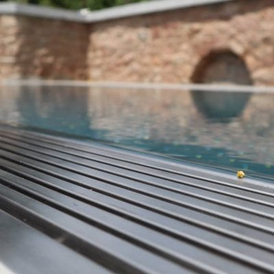 steel pool