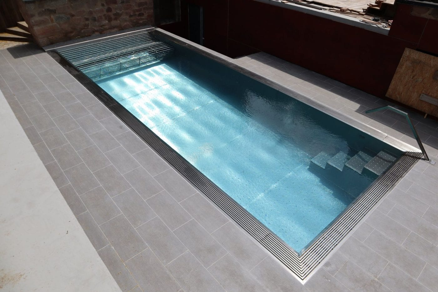 Luxe Stainless Steel pool