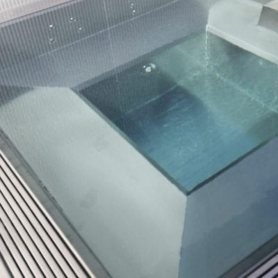 steel spa pool frame