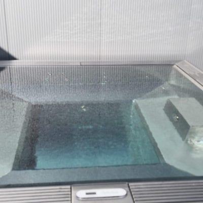 metal spa pool