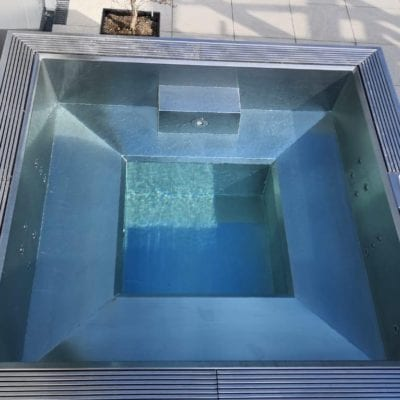 stainless steel spa frame
