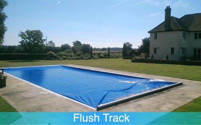 Flush Track Swimming Pool Cover