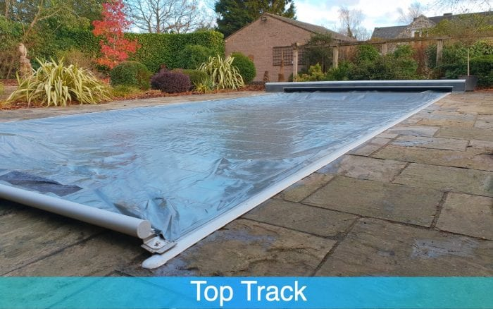 Top Track Swimming Pool Cover