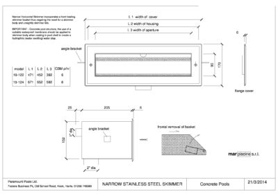 CAD Skimmer diagram