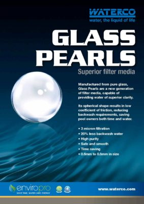 waterco Glass Pearls Microfine pdf