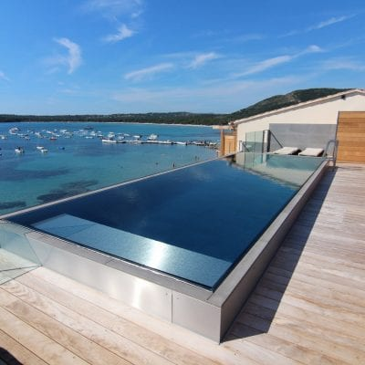 Stainless Steel Wall Swimming Pool