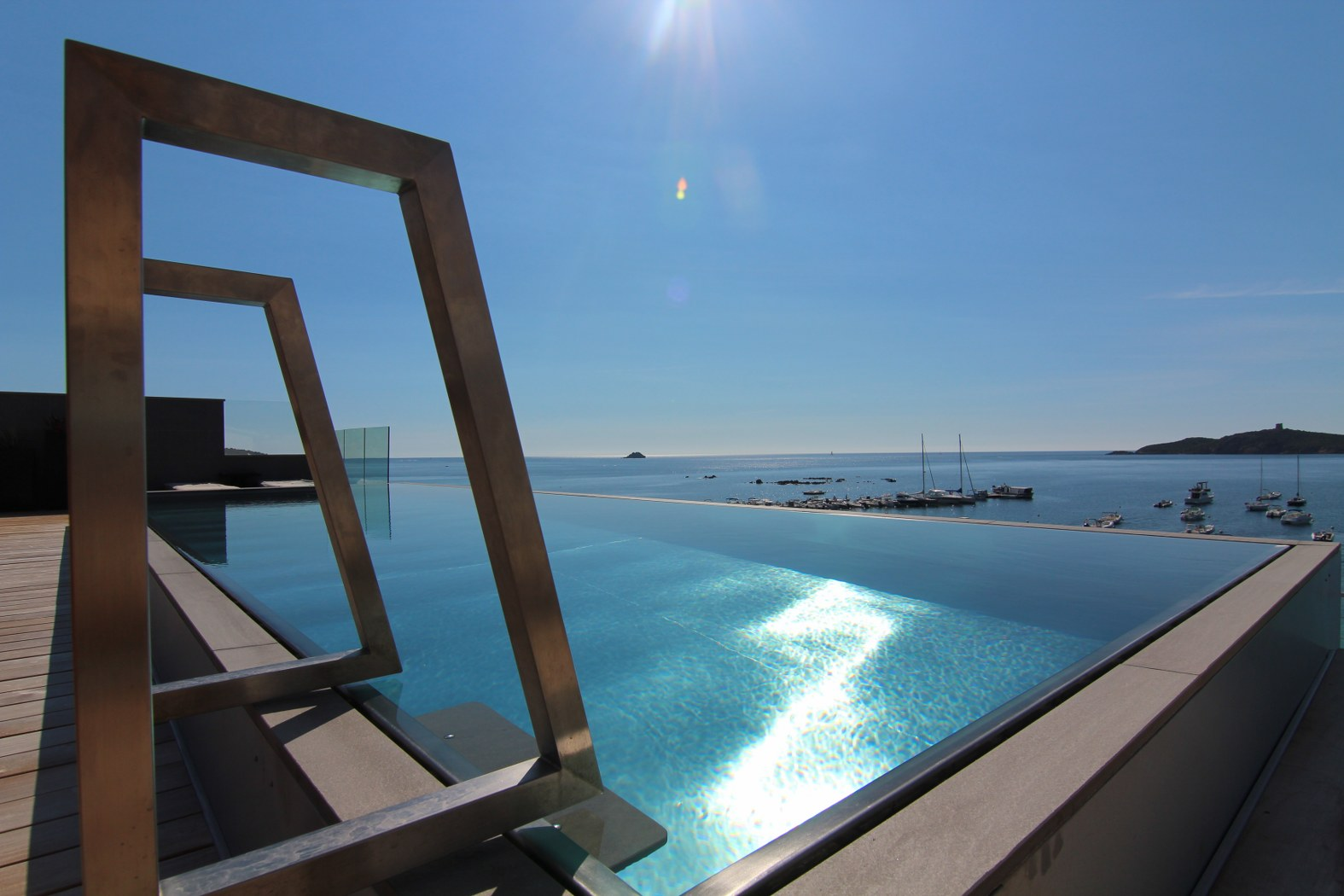 Luxe Stainless Steel Pools Paramount Pools