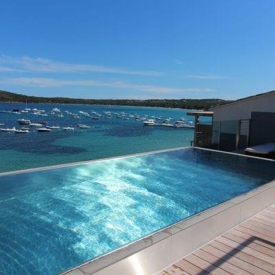 outdoor steel pool