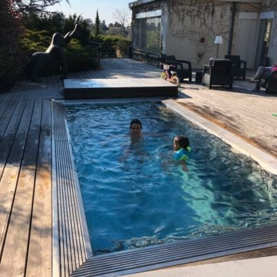 Luxe Stainless Steel Pool France