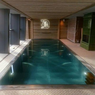 steel framed pool uk