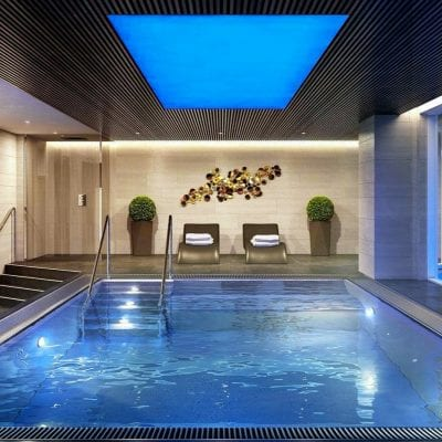 steel swimming pool
