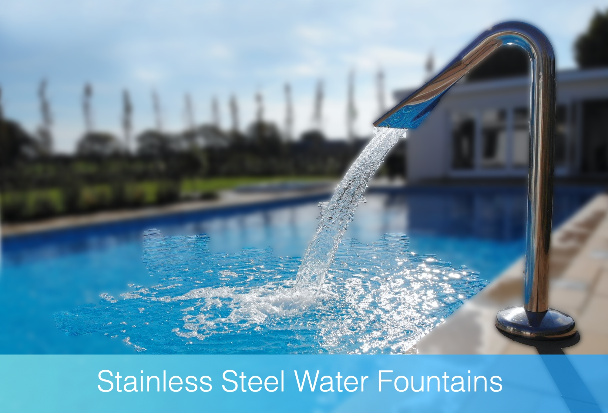 Stainless steel foundtain head