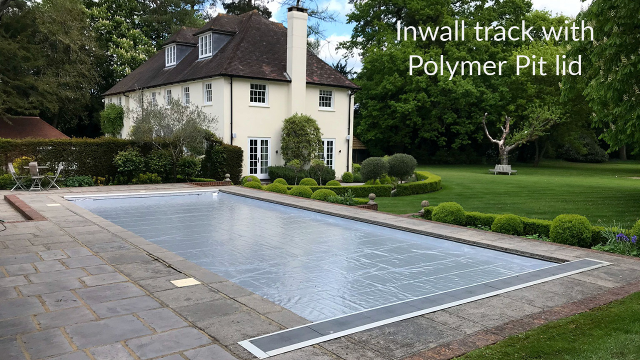 Inwall track Swimming Pool Cover