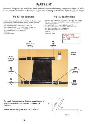 Pool Solar Spares