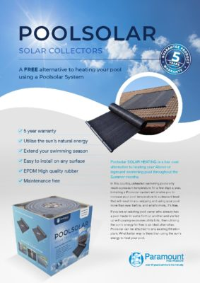 Pool Solar 2021 Brochure