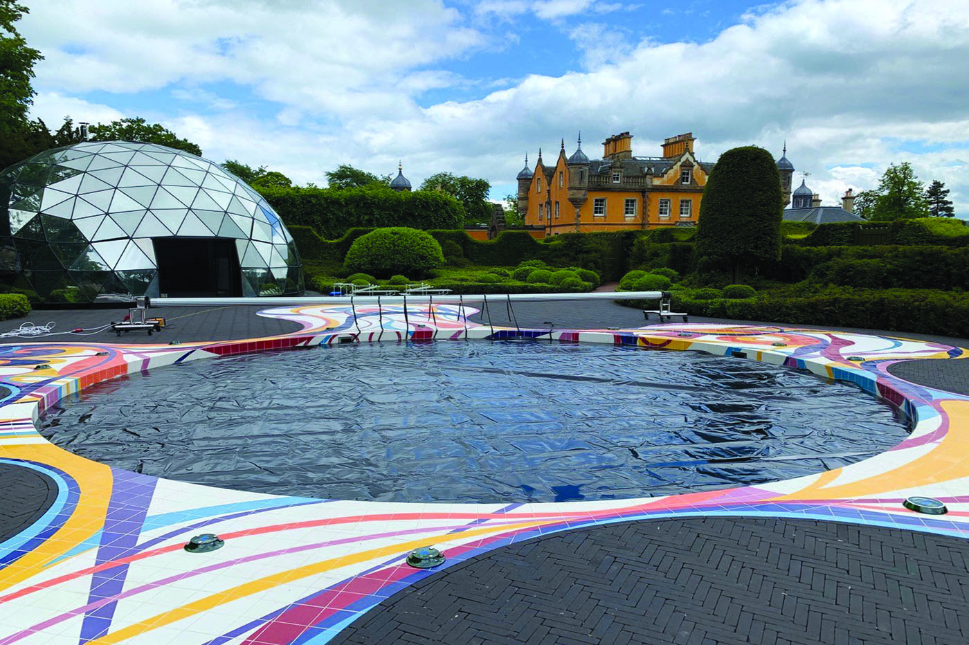 pool cover colours