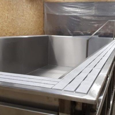 steel frame pool liner