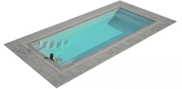 Mirror Line Pool Paramount Pools