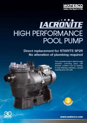 waterco Lacronite (A4) single