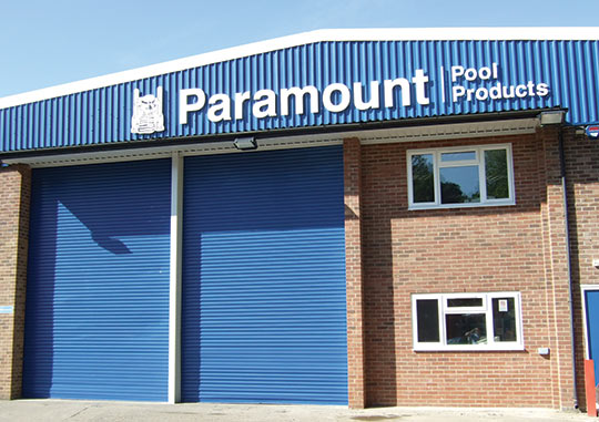Image showing exterior of Paramount Pools location.