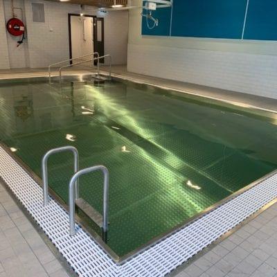 steel walled pool