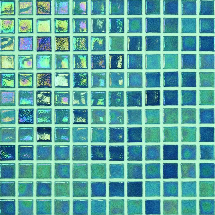 Emerald swimming pool mosiac tiles