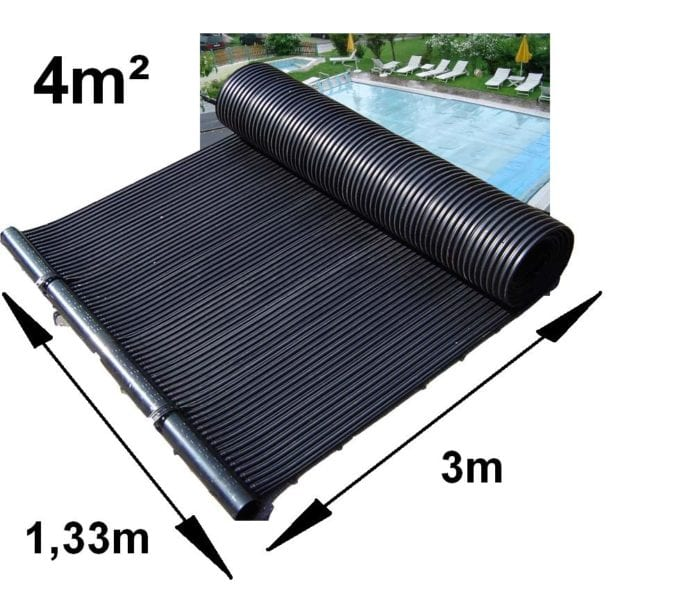 4m squared swimming poolo solar pannel