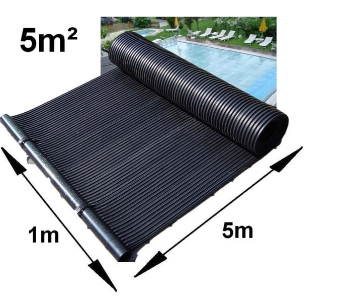 5 metres squared swimming pool solar pannel